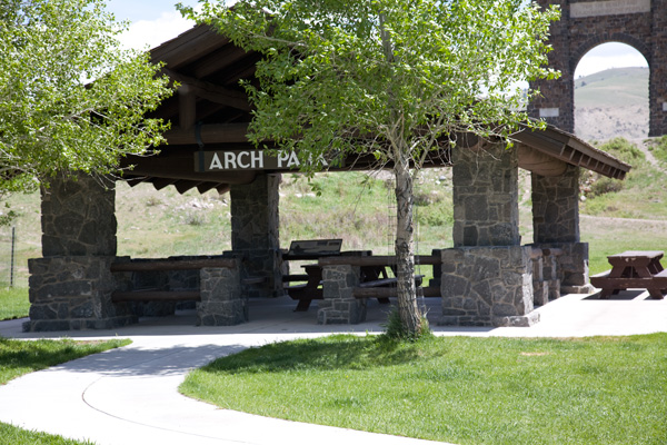 Arch Park Picnic Area by John William Uhler © Copyright All Rights Reserved