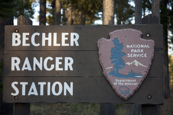 Bechler Ranger Station by John William Uhler ~ Copyright © Page Makers, LLC All Rights Reserved