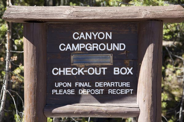 Canyon Campground by John William Uhler © Copyright