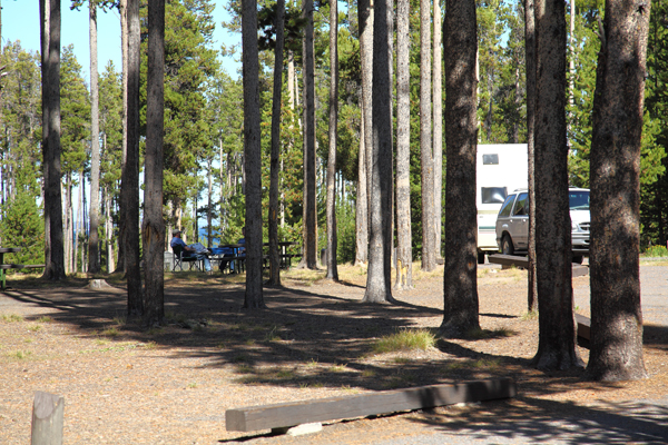 Grant Campground by John William Uhler © Copyright