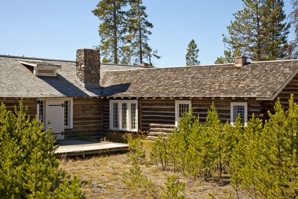 Museum of the National Park Ranger at Norris Campground by John William Uhler © Copyright