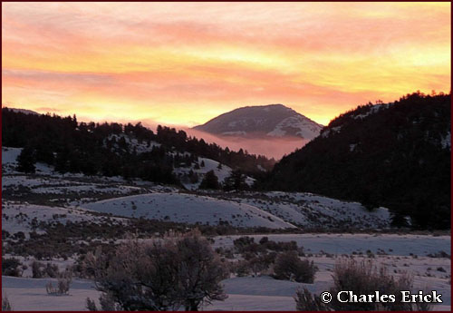 Slough Creek Sunrise ~ © Copyright All Rights Reserved Charles Erick