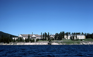 Lake Hotel NPS Photo - Yellowstone National Park