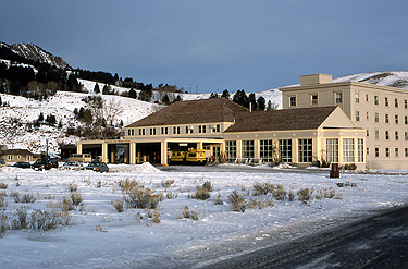 Mammoth Hot Springs Hotel NPS Photo - Yellowstone National Park