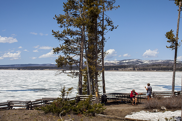 Steamboat Point Picnic Area by John William Uhler © Copyright