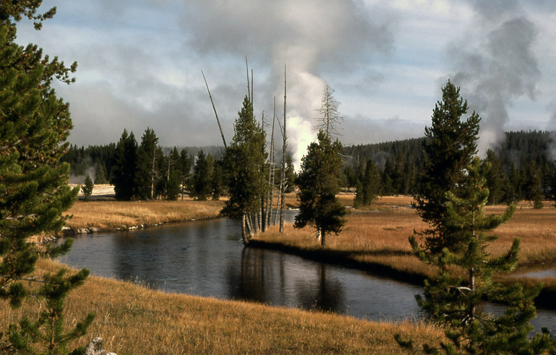 Firehole River - Yellowstone National Park ~ Photo by Rosalie LaRue NPS Photo