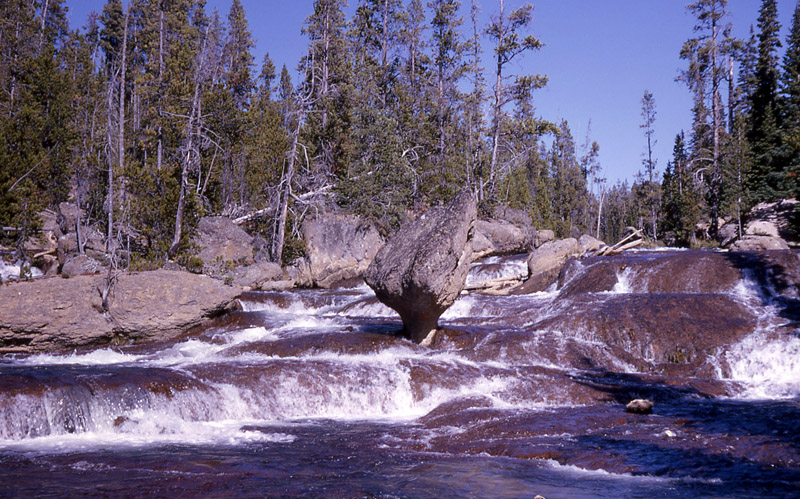 Gibbon River - Yellowstone National Park ~ by RG Johnsson NPS Photo