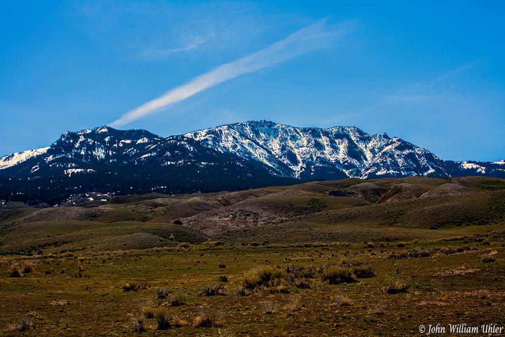 Sepulcher Mountain &#169 John William Uhler - Yellowstone National Park