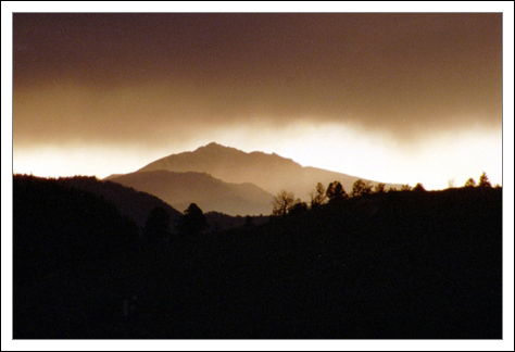 Storm Over Electric Peak - Yellowstone - 31 May 2002 by John W. Uhler © Copyright - All Rights Reserved