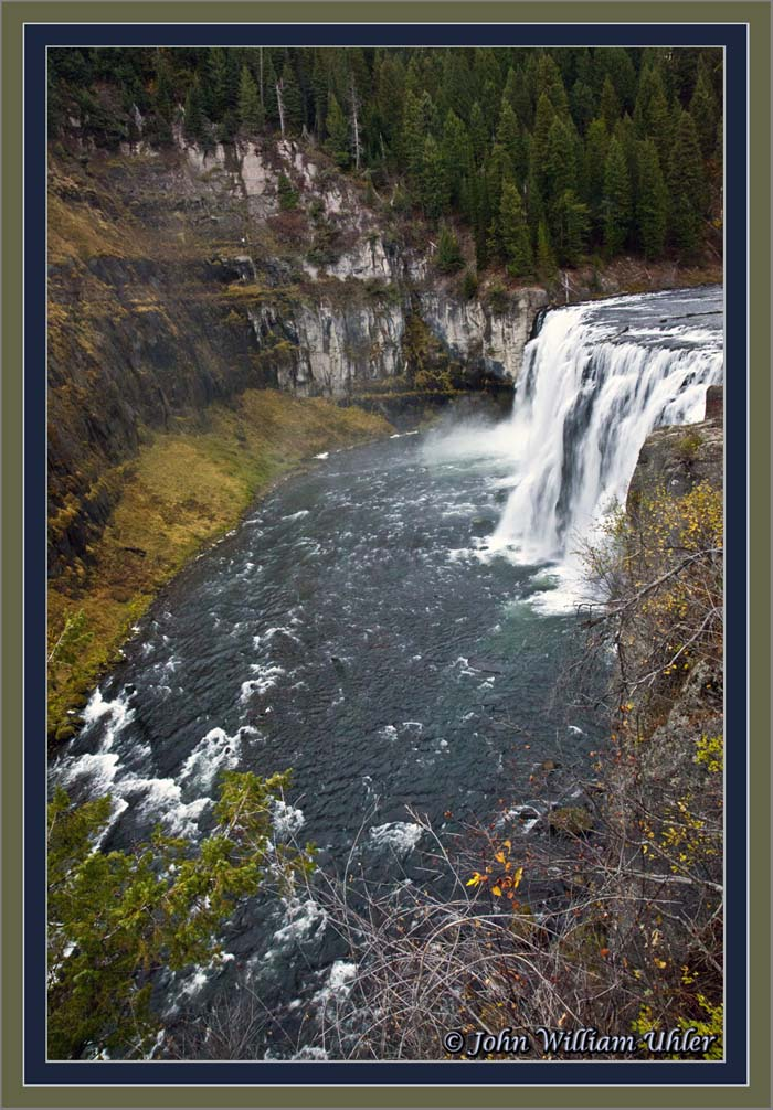 Upper Mesa Fall by John William Uhler - © Copyright Page Makers, LLC and Yellowstone Media