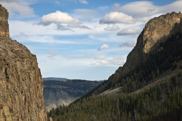 Golden Gate Canyon - Yellowstone National Park - by John William Uhler © Page Makers, LLC