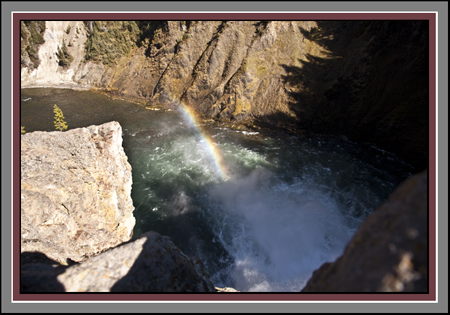 Upper Falls of the Yellowstone by John William Uhler Copyright © All Rights Reserved