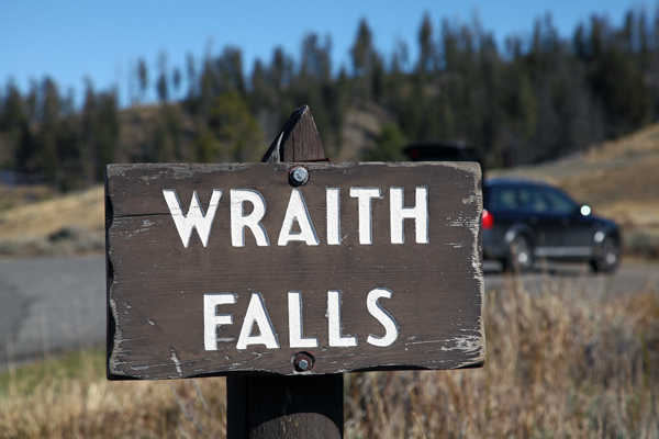 Wraith Falls - Yellowstone National Park - by John William Uhler © Page Makers, LLC