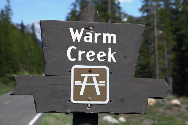 Warm Creek Picnic Area by John William Uhler © Copyright