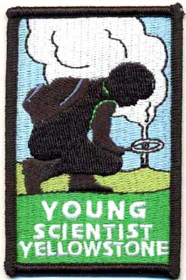 Young Scientist Patch - NPS Image